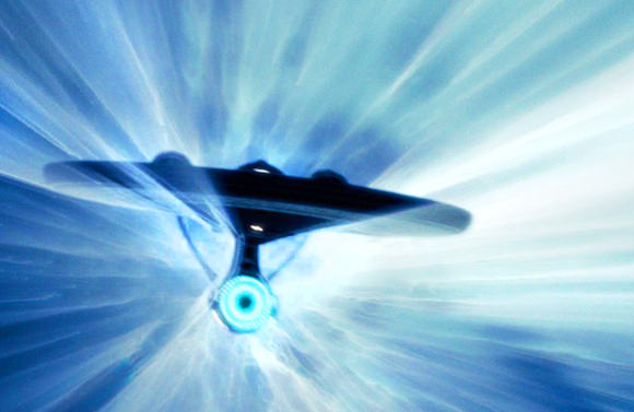 Dropping out of warp speed could have deadly results. (Image: Paramount Pictures/CBS Studios)
